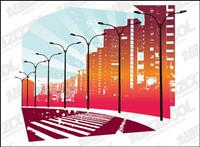 urbain vecteur routes