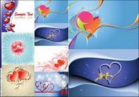 Saint-Valentin mat��riel Journ��e vecteur en forme de coeur