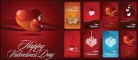 Carte de la Saint-Valentin Vector
