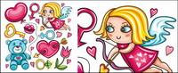 Labios, Baby Bear, claveles rosas; clave