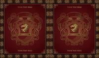 Classic fronti��re europ��enne motif fleuri 01
