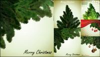 Lokale Weihnachtsbaum Vektor