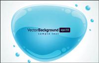 Burbuja de cristal gr��ficos vectoriales -6