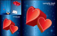 Romantische Liebe Geschenk Vector