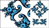 Abbildung klassischen Muster Vektor Material