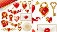 ++Golden Liebe Element Vektor Material++