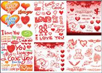 Pratiques Valentine ��l��ment mat��riel vecteur-3