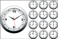 Reloj Vector descarga gratuita