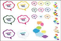 Colorful dialogue mignon Vector