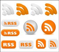 Rss Abonnez-vous Icons - Vector