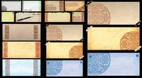 Feine Textur des Papiers