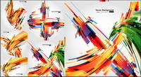 Beautiful dynamic graphics - Vector