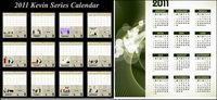Sowohl Vektor-Kalender 2010