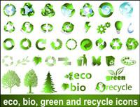 Recyclable signe vecteur mat��riel