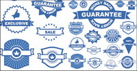 Badge ��tiquettes 01 - Vector