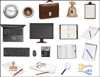 Office Series mat��riel vecteur icône