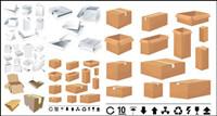 Boîtes et cartons Mod��les - Vecteur