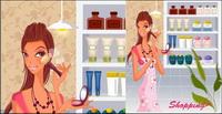mat��rielle des femmes Shopping-2