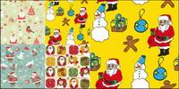 Fondos de Santa Claus Bonito - Vector