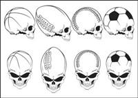 Mouvement des ��l��ments du crâne