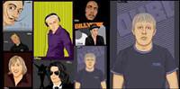 ++ Portraits Zeichnung Vector++