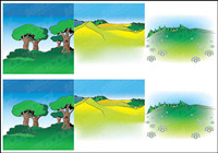 Cartoon Landschaft Vector -2