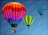 Heißluftballon Vektor Material