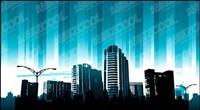 Blue City Vecteur