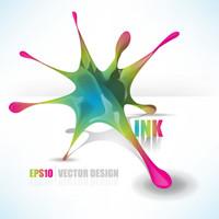 Exquisita decoraci¨®n patrones abstractos 01 - Vector