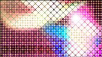 Helle Mosaik-Design Hintergrund Vektor Material -4