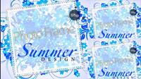 Elegantes Design der Textfeld dekorativen Sonnenschutz Muster Vektor Material -1