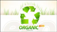 Materia ambiental diseño de la disposici¨®n 02 - vector de material