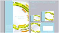 Conception du livre ��trang��res 01 - Vector