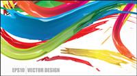 Exquisite dekorative abstrakte Muster 03 - Vektor Material