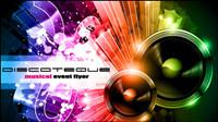 Brillant dynamiques des ��l��ments musicaux 01 - Vector