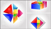 Sept couleurs changeantes mat��riel vecteur