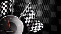 Racing motif de fond le th��me 04 - mat��riel vecteur