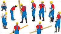 Workers Silhouette Vektor