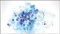 Brilliant dynamischen Elemente der Trend 03 - Vektor Material