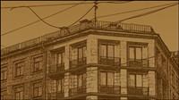 Exquisite europäischen Architektur dekorative Malerei 05 - Vektor-Material