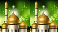 Im islamischen Stil Burg Vektor -3