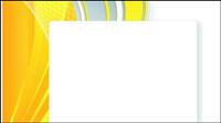 De color amarillo brillante de la l¨ªnea de texto -3 caja de vectores