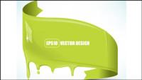 Flowing pigment 02 - vecteur