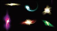 Herrlich und schillernde Lichteffekte 03 - Vektor