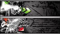 Trend von Graffiti - Vektor