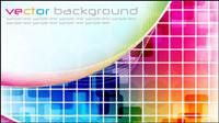 Symphony Feld Hintergrund Vektor Material -2