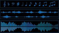 Mat��riau de la bande audio 01 - vecteur
