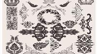 Exquise fond motif d��coratif 03 - mat��riel vecteur