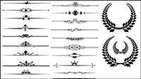Fronti��re motif fin 02 - mat��riel vecteur