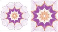 Feine fälschungssicheren Muster 05 - Vektor Material